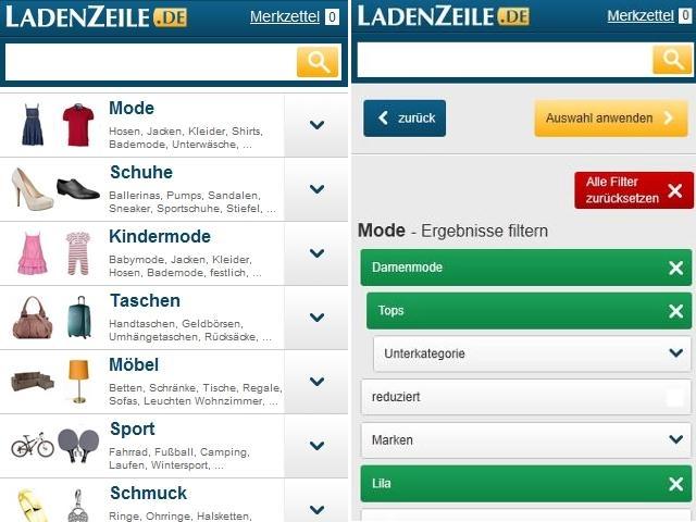 LadenZeile-App